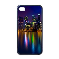 Night View Black Apple iPhone 4 Case by Unique1Stop