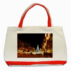 Christmas Deco Red Tote Bag by Unique1Stop