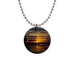 Sunset2 Mini Button Necklace