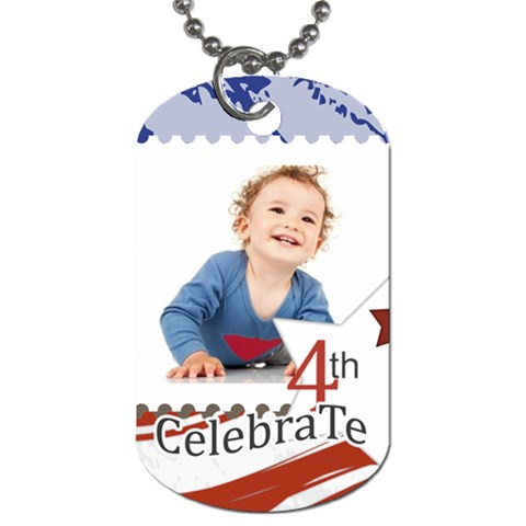 National Day By Anita   Dog Tag (one Side)   Antfzwjnqejz   Www Artscow Com Front