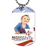 National Day - Dog Tag (One Side)