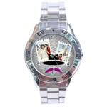 fathers day - Stainless Steel Analogue Men's Watch