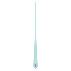 Light Blue Church Tie By Joy Johns   Necktie (two Side)   Ikvwdo9mvepv   Www Artscow Com Front