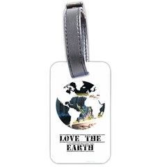 <3 Earth Luggage Tag (one Side) by awesomesauceshop
