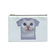 Cute Cat Cosmetic Bag (medium) by SweetCat