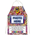 Art Teacher s Apron - Full Print Apron