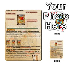 Lucha Cartas Manoeuvres X4 By Gabzeta   Multi Purpose Cards (rectangle)   3s9uaw6z7pfd   Www Artscow Com Back 54