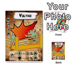 Lucha Cartas Manoeuvres X4 By Gabzeta   Multi Purpose Cards (rectangle)   3s9uaw6z7pfd   Www Artscow Com Front 2