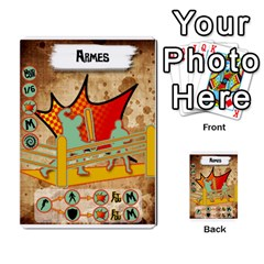 Lucha Cartas Manoeuvres X4 By Gabzeta   Multi Purpose Cards (rectangle)   3s9uaw6z7pfd   Www Artscow Com Front 18