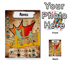 Lucha Cartas Manoeuvres X4 By Gabzeta   Multi Purpose Cards (rectangle)   3s9uaw6z7pfd   Www Artscow Com Front 20