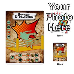 Lucha Cartas Manoeuvres X4 By Gabzeta   Multi Purpose Cards (rectangle)   3s9uaw6z7pfd   Www Artscow Com Front 40
