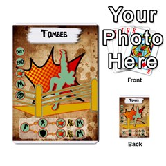 Lucha Cartas Manoeuvres X4 By Gabzeta   Multi Purpose Cards (rectangle)   3s9uaw6z7pfd   Www Artscow Com Front 5
