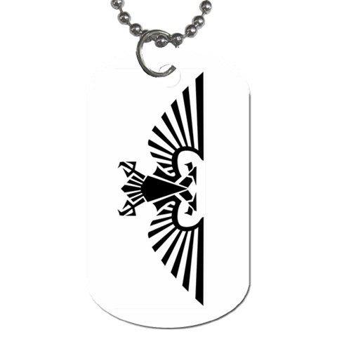 Imperial Guard Warhammer Dogtag By Lord Comisario   Dog Tag (one Side)   Tgaoloawukc7   Www Artscow Com Front