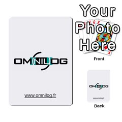 Omnilog By Gilles Daigmorte   Multi Purpose Cards (rectangle)   Yt58owvzew8v   Www Artscow Com Front 30
