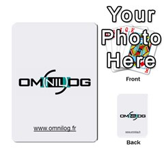 Omnilog By Gilles Daigmorte   Multi Purpose Cards (rectangle)   Yt58owvzew8v   Www Artscow Com Front 39