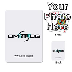 Omnilog By Gilles Daigmorte   Multi Purpose Cards (rectangle)   Yt58owvzew8v   Www Artscow Com Frontback