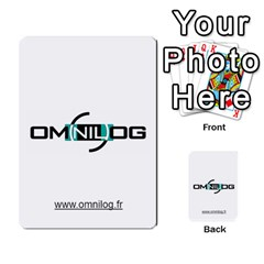 Omnilog By Gilles Daigmorte   Multi Purpose Cards (rectangle)   Yt58owvzew8v   Www Artscow Com Front 43