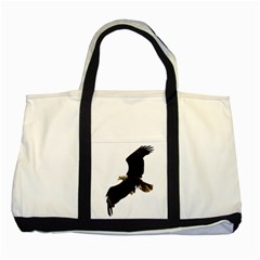 Landing Eagle I Two Toned Tote Bag by OnlineShoppers
