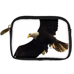 Landing Eagle I Digital Camera Leather Case by OnlineShoppers