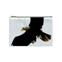 Landing Eagle I Cosmetic Bag (medium) by OnlineShoppers