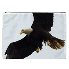 Landing Eagle I Cosmetic Bag (xxl) by OnlineShoppers
