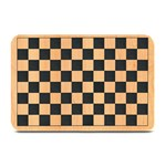 Courier Chess Board - Plate Mat