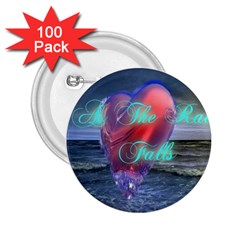 As The Rain Falls 2.25  Button (100 pack)