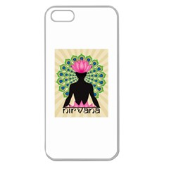 Me & Nirvana Apple Seamless iPhone 5 Case (Clear) by NIRVANA