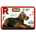 rosco dinner 2 - Large Doormat