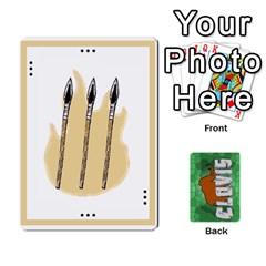 King Clovisv2 2 Deck2deutsch By Geni Palladin   Playing Cards 54 Designs   Hv5gf1v7m47l   Www Artscow Com Front - DiamondK