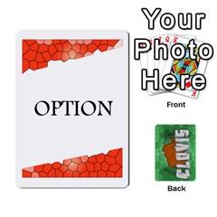 Jack Clovisv2 2 Deck2 By Geni Palladin   Playing Cards 54 Designs   L10nmc56o2vw   Www Artscow Com Front - ClubJ