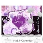 Calendar 2014 - Wall Calendar 11  x 8.5  (12-Months)