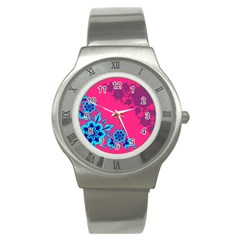 4 Stainless Steel Watch (unisex)