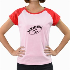 Helm Drywall Women s Cap Sleeve T Shirt (colored)