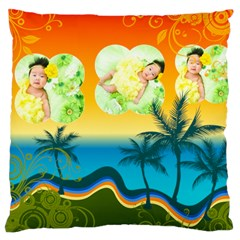 Summer By Summer Time    Large Cushion Case (two Sides)   In0tlqzztc64   Www Artscow Com Front