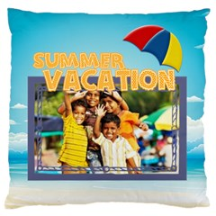 Summer By Summer Time    Large Cushion Case (two Sides)   Ynyickmf08i0   Www Artscow Com Front