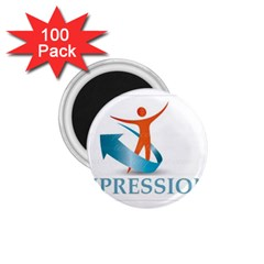 Impressions 1 75  Button Magnet (100 Pack)