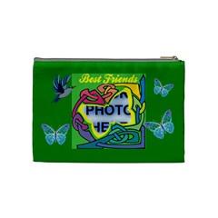 Best Friends Medium Cosmetic Bag By Joy Johns   Cosmetic Bag (medium)   J6eqadwrtru9   Www Artscow Com Back