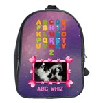Girls ABC Book Bag, extra large - School Bag (XL)