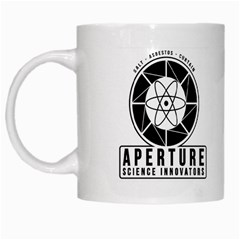 Aperture Science Coffee Mug By Lord Comisario   White Mug   Q0of99ht7f05   Www Artscow Com Left