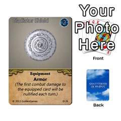 Shattered Olympus Core Set By Julian Wehrmann   Playing Cards 54 Designs   Fi5osaspz3o4   Www Artscow Com Front - Diamond5