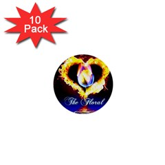 Thefloralcovenant 1  Mini Button (10 Pack) by AuthorPScott