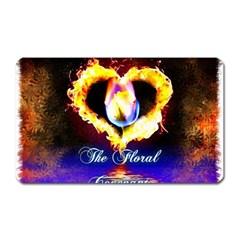 Thefloralcovenant Magnet (rectangular) by AuthorPScott