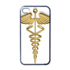 Caduceus Medical Symbol 10983331 Png2 Apple Iphone 4 Case (black) by artattack4all