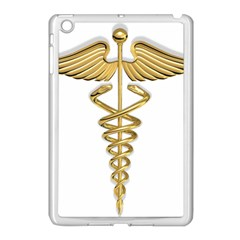 Caduceus Medical Symbol 10983331 Png2 Apple Ipad Mini Case (white)