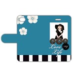 my life of love - Apple iPhone 4/4S Leather Folio Case