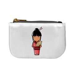 Japanese Geisha Coin Change Purse by KujiKujistore