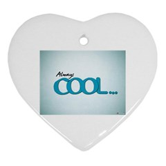 Cool Designs Store Heart Ornament
