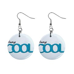 Cool Designs Store Mini Button Earrings