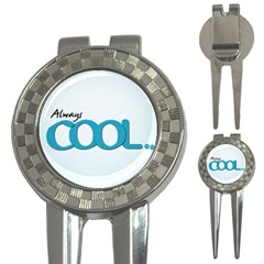 Cool Designs Store Golf Pitchfork & Ball Marker by CoolDesignsStore